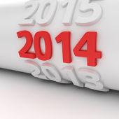 Calendar roll — Stockfoto