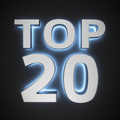 Luminous Top 20 — Stock Photo