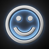 Happy smiley — Stock Photo