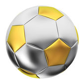 Balón de plata — Foto de Stock