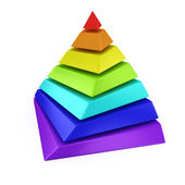 Maslow's hierarchy of needs — Stock Photo