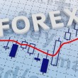 Stock Photo: Forex trading