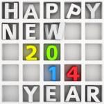Happy New 2014 Year — Stock Photo #29003821