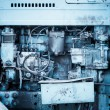 Tractor engine — Stockfoto