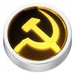 Socialism round icon — Stock Photo