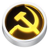 Socialism round icon — Stock Photo