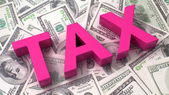 Taxation concept — Stock Photo