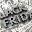 Dollar's Black Friday — Stock Photo