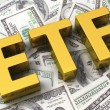 Abbreviation ETF — Stock Photo