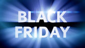 Coming of Black Friday — Stock Photo