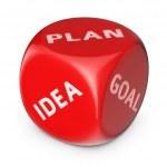 Make the plan — Stock Photo #36018185