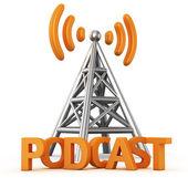 Podcast transmitter — Stock Photo