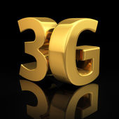 3G letters — Stock Photo