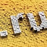Pixelated dot RU — Stock Photo #49834425