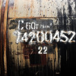 Grunge petroleum waggon — Stock Photo #1613243