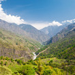 Beautiful landscape in Himalayas — Stock Photo #18329391