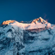 Annapurna in sunrise light — Lizenzfreies Foto
