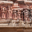 Detail of Krishna temple — Stock Photo