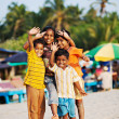 Indian children - Stock Photo