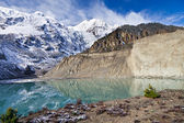 Gangapurna lake, Himalaya — Stock Photo