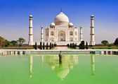 Taj Mahal, Agra — Stock Photo