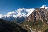 Annapurna mountain, Himalaya — Stock Photo