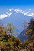 Himalaya landschap, nepal — Stockfoto
