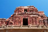 Detail of Krishna temple — Stock Photo