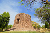 Uncompleted Alai Minar — Stock Photo
