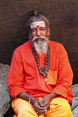 Sadhu - holy men — Foto Stock