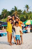 Indické děti — Stock fotografie