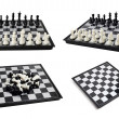 Chess board with figures — Stock Photo #20251871