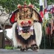 barong dance show — Stock Photo