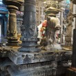 Inside Meenakshi Temple - Stockfoto