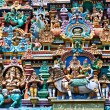 Relief of Menakshi Temple - Stock Photo