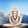 Lord Shiva Statue - Stock Photo