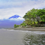 Agung volcano — Stock Photo
