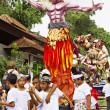 Balinese New Year — Stock Photo