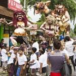 Ngrupuk parade in Ubud, Bali — Stock Photo