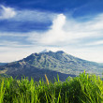 Mount Batur — Stock Photo