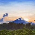 Agung volcano — Stock Photo #20253435