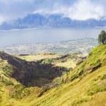 Inside Batur volcano — Stock Photo
