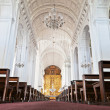 Inside church — Stockfoto