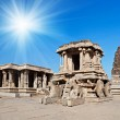 Stock Photo: Chariot, Hampi, India