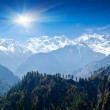 Himalayas landscape, Nepal — Stock Photo