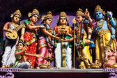 Facade of the hindu temple — Stock Photo