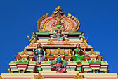 Facade of the hindu temple — Stock Photo