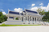 Beauty white temple — Stock Photo