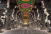 świątynia minakszi świątyni hinduskiej — Zdjęcie stockowe