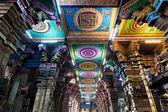 Dentro do templo de meenakshi — Foto Stock